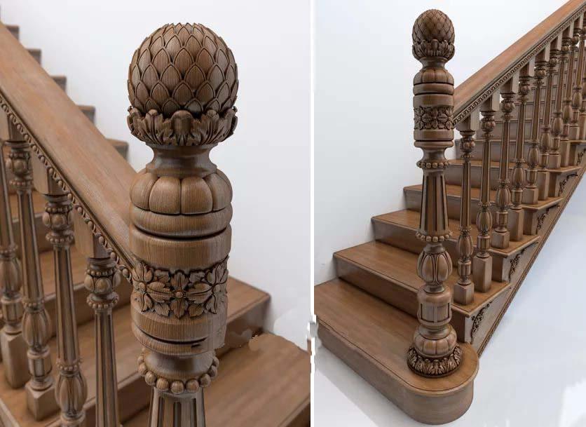 О лестницах - деревянные лестницы на заказ - Лестница просто